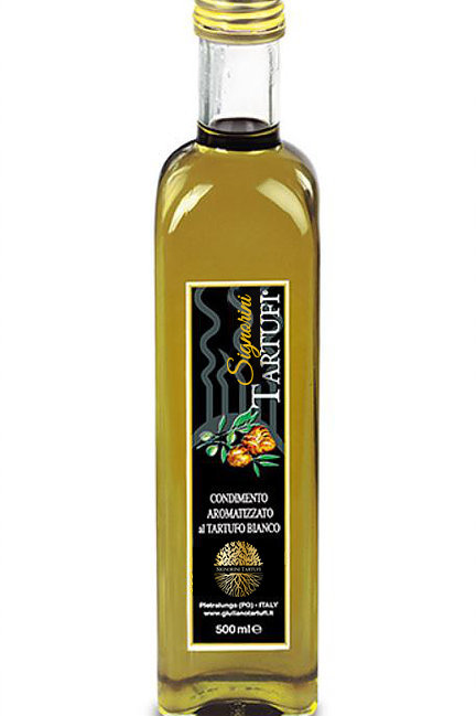 Huile d'olive extra vierge aromatisée à la truffe Blanche 55ml