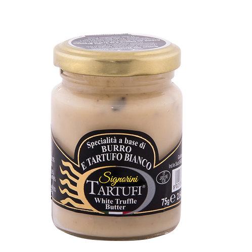 Spécialité à base de beurre et de truffe blanche