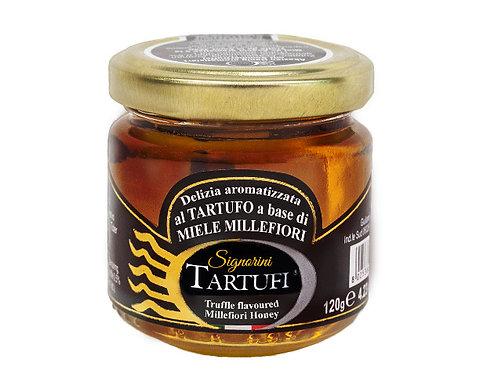 Miel d'Acacia aromatisé à la truffe d'été 120g