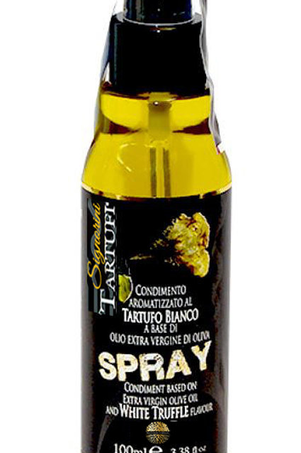 Huile d'olive extra vierge aromatisée à la truffe Noire en spray 100ml