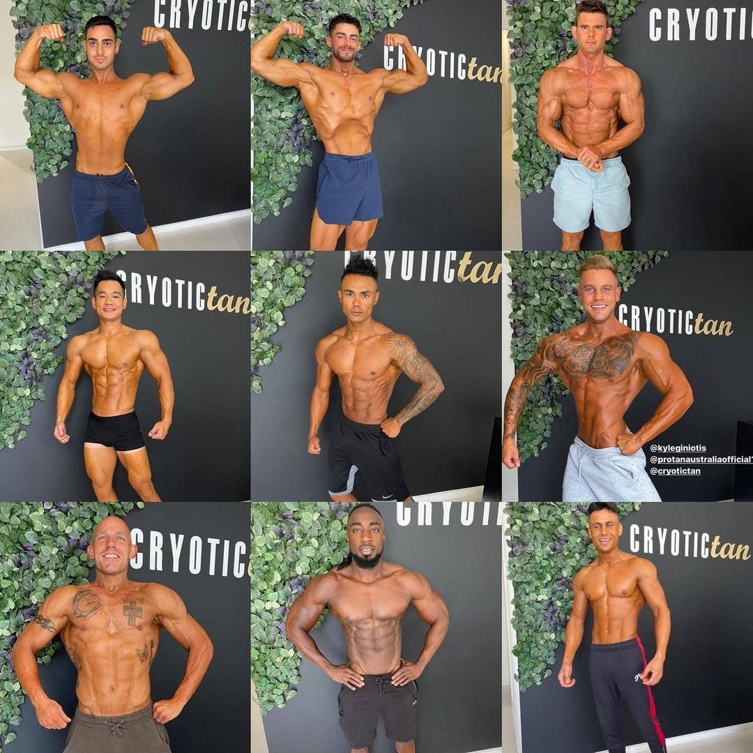 Body Building Competition Base Tan