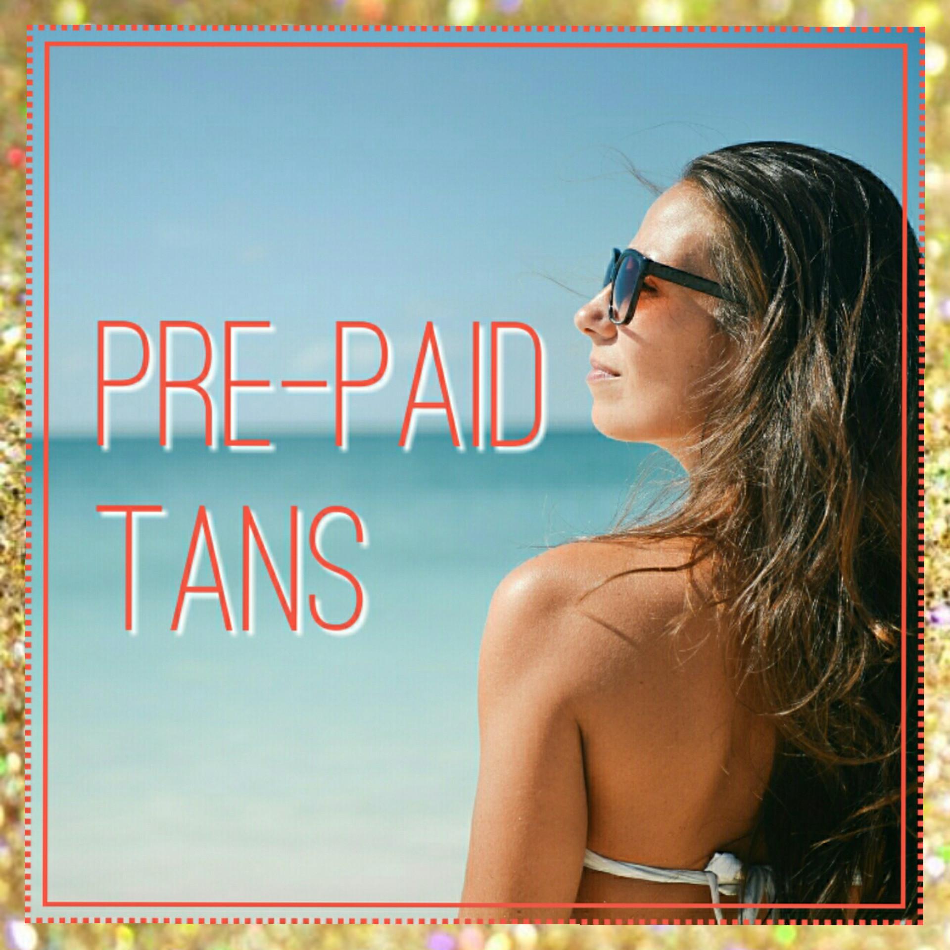 Spray Tan using Pre-Purchased Pass