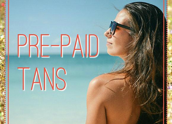 VIP Pre-Paid Tan Pass 10 x Spray Tans
