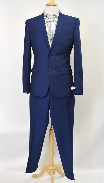 The Kooples Blue Wool Suit Size 36R