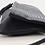 Thumbnail: GiGi Navy Snake Skin Textured Leather Purse
