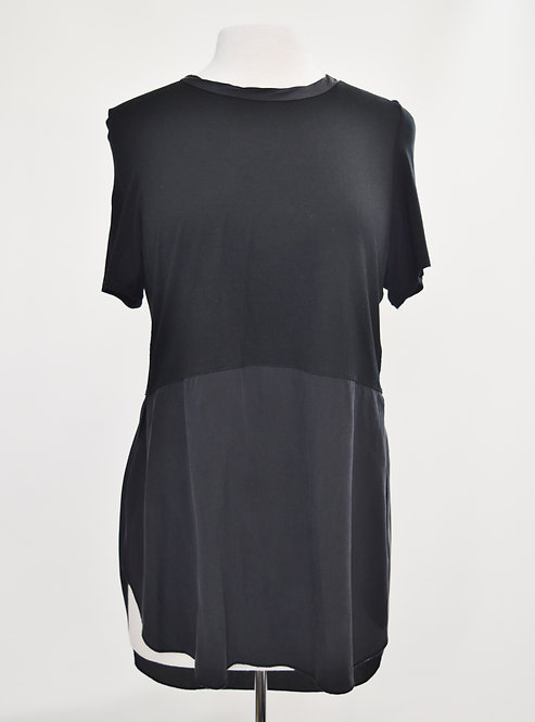 Wilfred Black Two-Tone Top Size Large