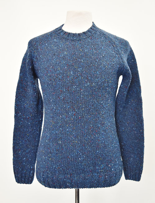 Barbour Blue Knit Sweater Size Small