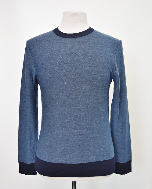 Theory Blue Knit Sweater Size Small