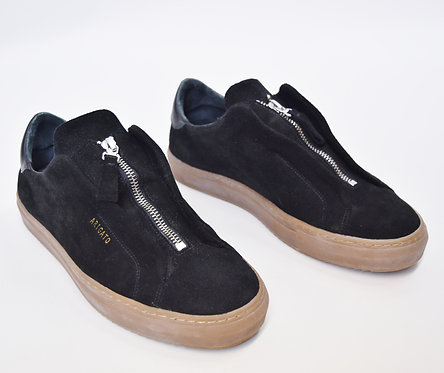 Axel Arigato Black Suede Sneakers Size 8