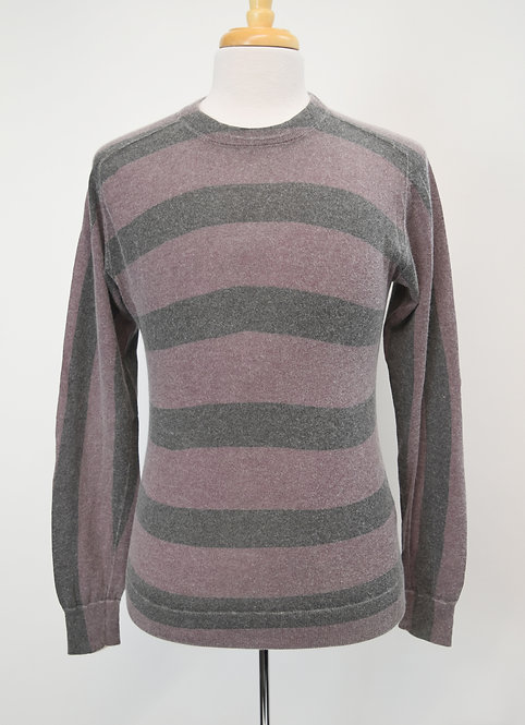 Marc By Marc Jacobs Purple Stripe Sweater Size Small