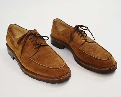 To Boot New York Tan Suede Shoes Size 9.5