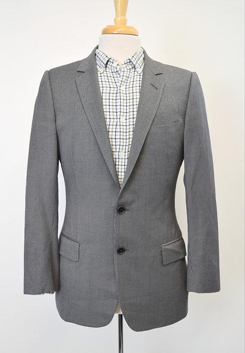 Dior Gray Pinstripe Blazer Size 38R