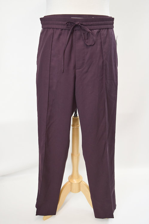 Vince Burgundy Drawstring Pants Size XL