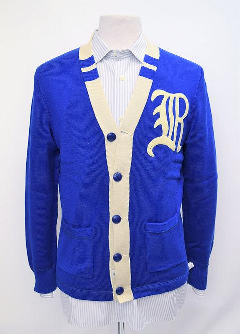 Rugby Ralph Lauren Blue Cardigan Size Medium