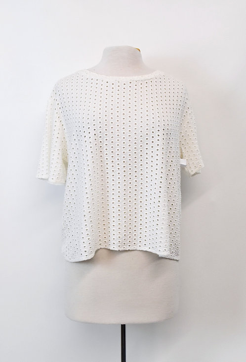 Wilfred White Eyelet Top Size XS (2)