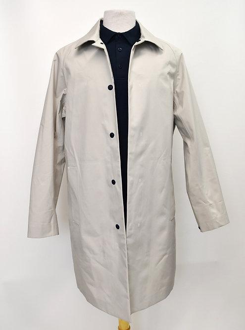 Theory Light Gray Raincoat Size Medium