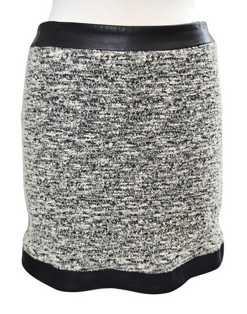 Rag & Bone Black & White Mini Skirt Size 6