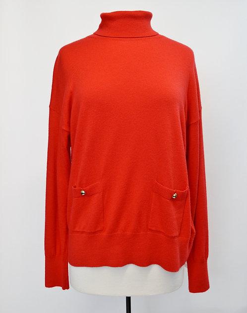 Kate Spade Red Turtleneck Sweater Size Medium
