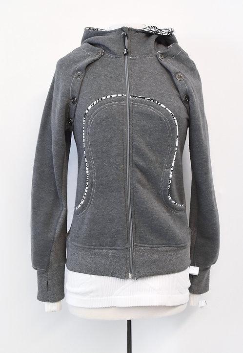 Lululemon Gray 2-n-1 Jacket Size Medium (10)