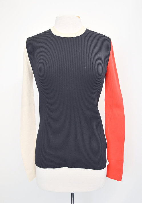 Calvin Klein 205W39NYC Ribbed Knit Sweater Size Small