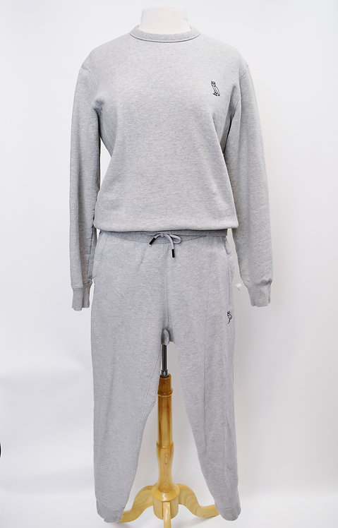 October' Very Own Gray Sweat Suit Size Small