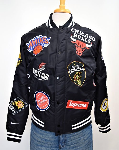 Nike x Supreme NBA Teams Warm-Up Jacket Size Small