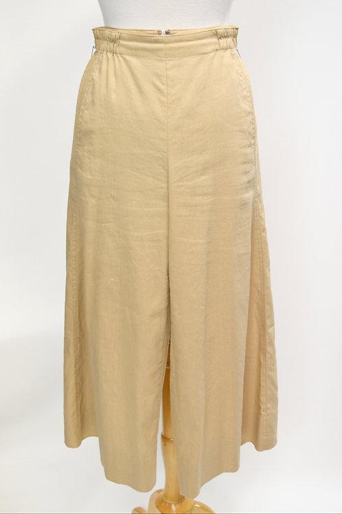 Vince Tan High-Rise Culotte Pants Size 2