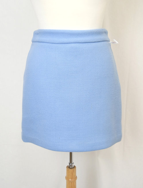 Milly Light Blue Mini Skirt Size Small (6)