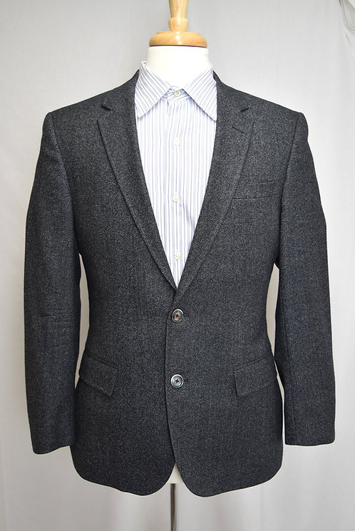 Hugo Boss Gray Wool Blazer Size 40R