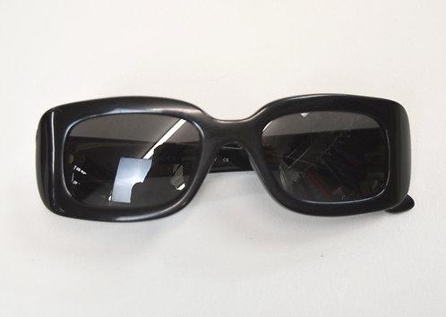 Gucci Black Matte Square Sunglasses