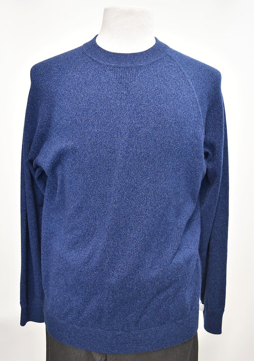 Autumn Cashmere Blue Cashmere Sweater Size Medium