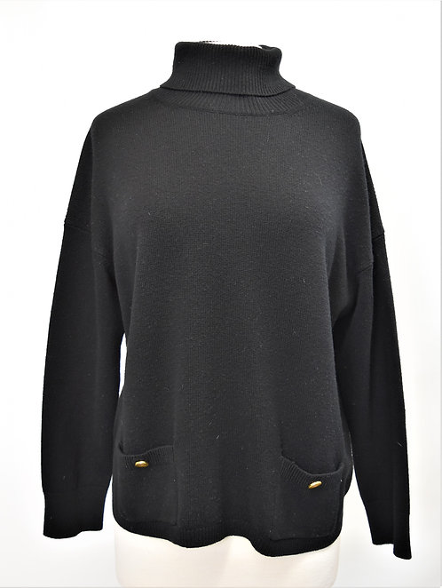 Kate Spade Black Wool Sweater Size Medium