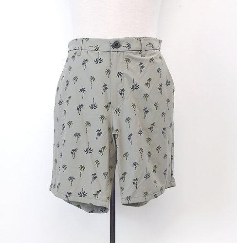 Bonobos Gray Print Shorts Size 38