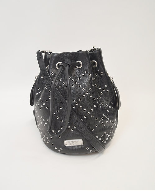 Marc By Marc Jacobs Black Studded Crossbody