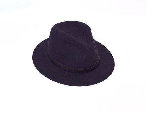Rag & Bone Dark Purple Wool Hat