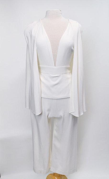 Cushnie Et Ochs White Jumpsuit Size Small (6)