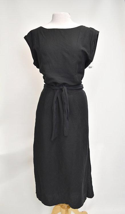 Ozma Black Maxi Dress Size Large