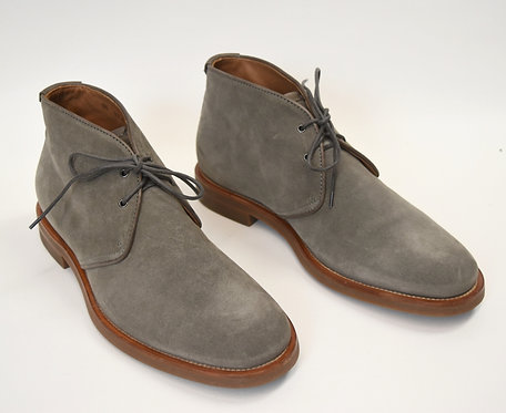 Aquatalia Gray Leather Chukka Boots Size 9.5