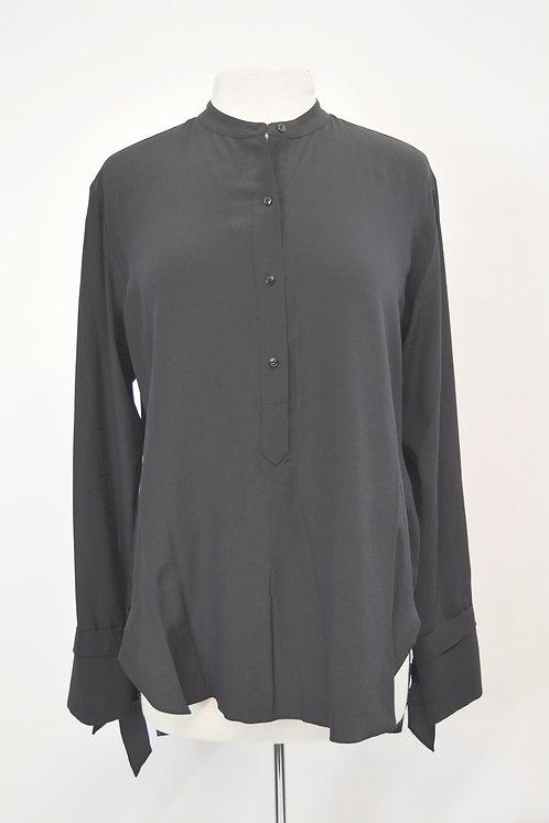 Rag & Bone Black Silk Blouse Size Medium