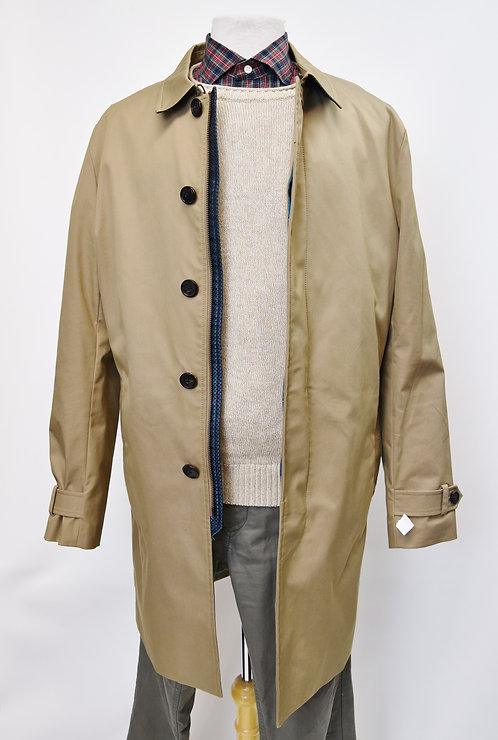 Ted Baker tan overcoat size large