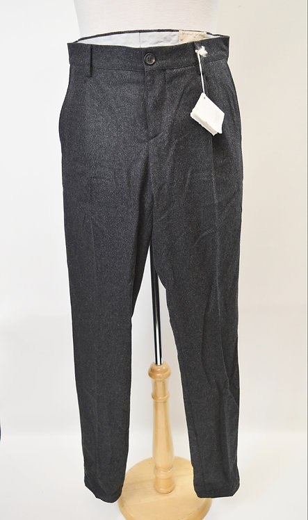 Brunello Cucinelli Gray Wool Pants Size 34
