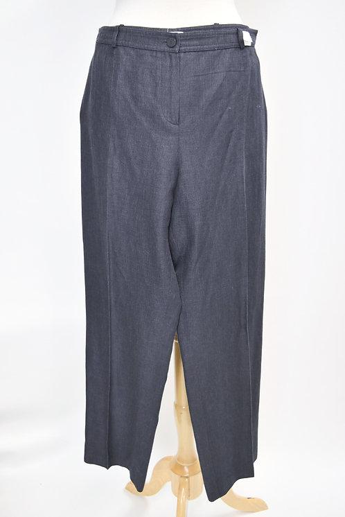 Chanel Gray Cotton Pants Size Large