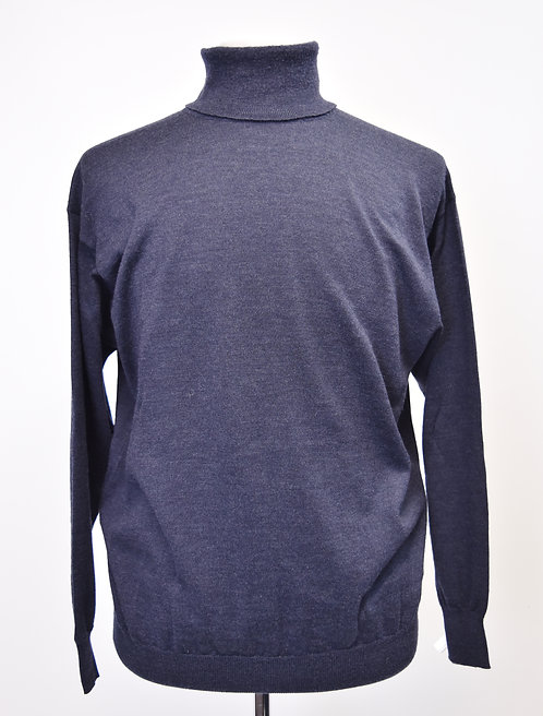 Gucci Navy Turtleneck Sweater Size Large
