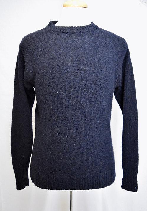 Pendleton Navy Shetland Wool Sweater Size Small