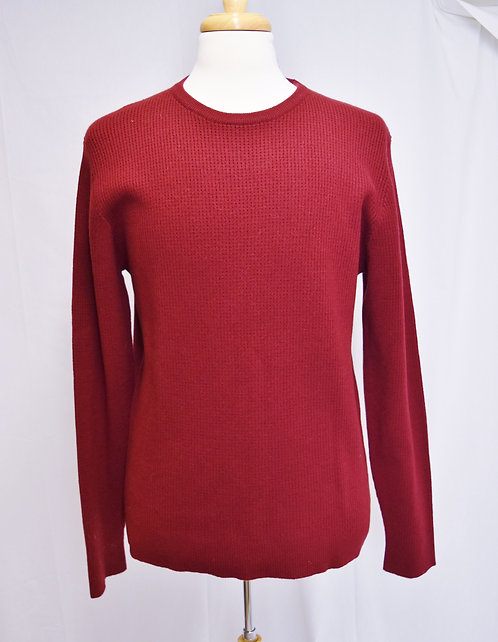 Malo Red Cashmere Knit Sweater Size XL