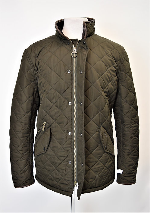 Barbour Green Quilted Jacket Size Large