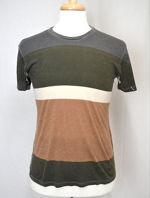 Emporio Armani Stripe T-Shirt Size Medium