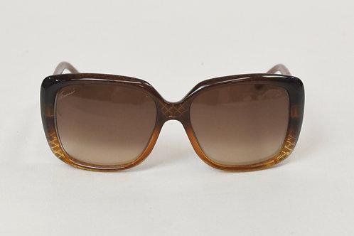 Gucci Brown Oversized Square Sunglasses