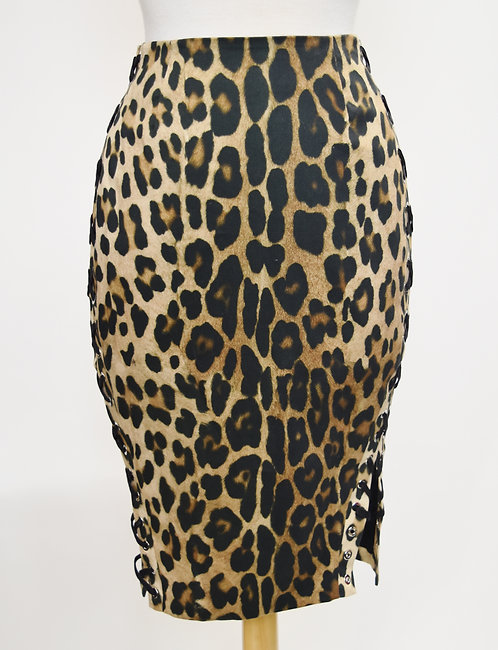 Altuzarra Cheetah Print Pencil Skirt Size 6 (38)