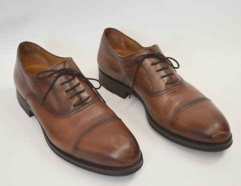 Magnanni Brown Leather Dress Shoes Size 13